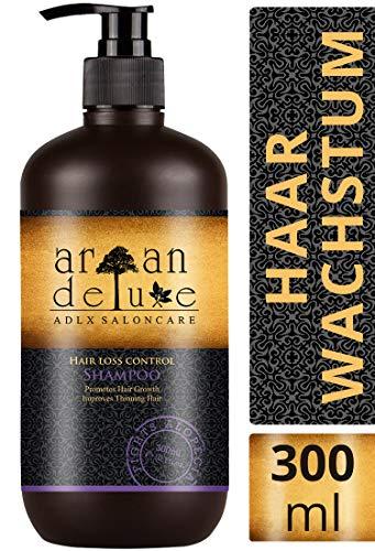 Shampoo Argan Deluxe per la crescita dei capelli in qualità professionale 300 ml - efficace contro la caduta dei capelli