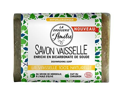 La Droguerie d'Amélie 3509 - Sapone Per Piatti Con Sapone Di Marsiglia, Marrone, 200 g