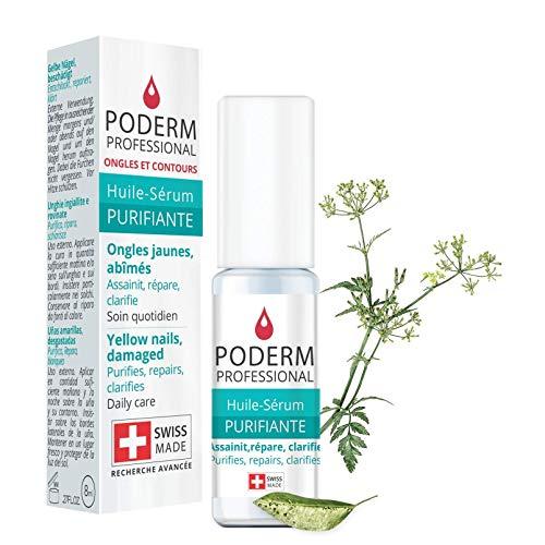 PODERM - TRATTAMENTO MICOSI UNGHIE | Alle piante potenti,riparatrici, purificanti e rivitalizzanti | Trattamento professionale mani/piedi |Facile & rapido| Prodotto in Svizzera