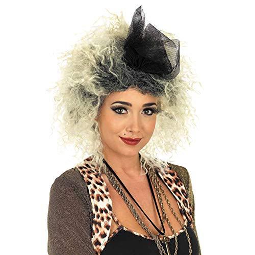 Fun Shack Parrucca per Adulti Diva Pop Anni '80 Cantante Capelli Biondi da Donna Accessorio Costume