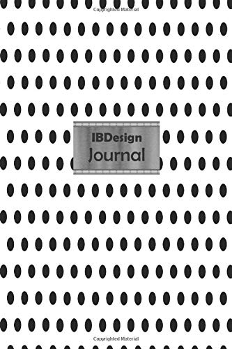 IBDesign Journal Professional Travel Make-up Cosmetic Organizer Notebook in your bag for women |6x9 inch |100 Lined pages | Glossy White Polka Dot ... active travelers or beauty products lovers