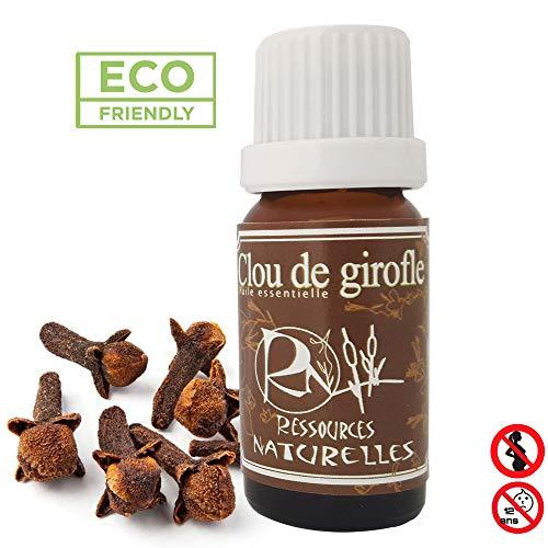 Ressources Naturelles Olio Essenziale Di Chiodi Di Garofano Biologico - 10 Ml