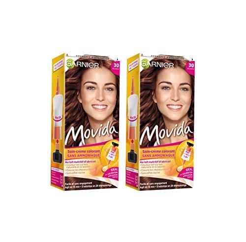 Garnier Movida - Colorazione temporanea senza ammoniaca in mogano - 30 mogano