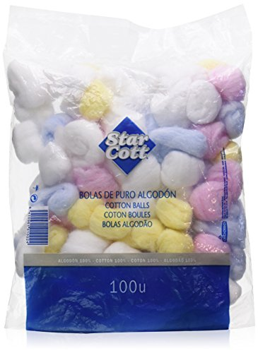 Star Cott Cotton Balls And Disks - 125 ml