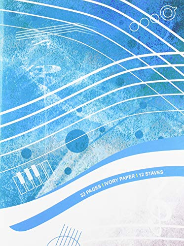 Quaderno di musica - 12 righi, 32 pp. carta avorio