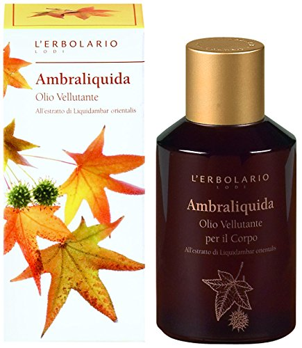 L 'erbolario Ambraliquida Body oil