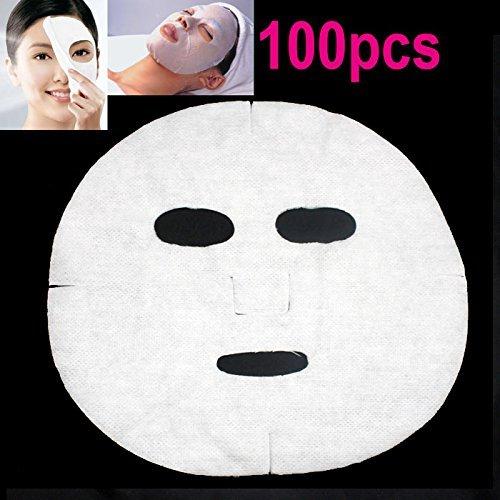 Maschera viso cosmetici non tessuto–Sunkcci maschere di carta cotone lenzuolo
