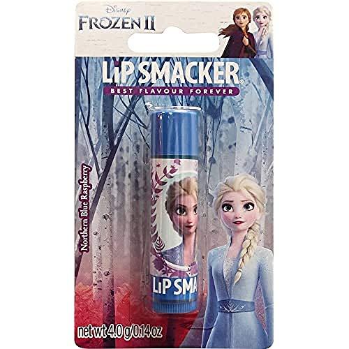 Lip Smacker Lip Smacker - Disney's Frozen Collection - Burrocacao per Bambini - Lip Smacker Disney Elsa Balsamo Labbra Singolo - Gusto Lampone - 4 g
