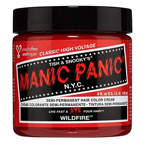 Colorante Per Capelli Formula Classic Cream High Voltage Manic Panic 118ml (Wildfire)