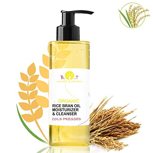 Olio di Riso Biologico Detergente Struccante Make-Oil Cleanser Waterproof 100% Natural 500 ml