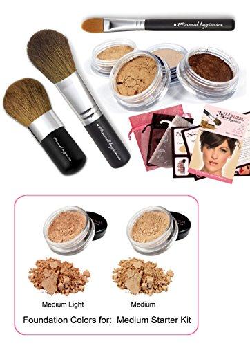 Mineral Makeup Starter Kit - Medium by Mineral Hygienics