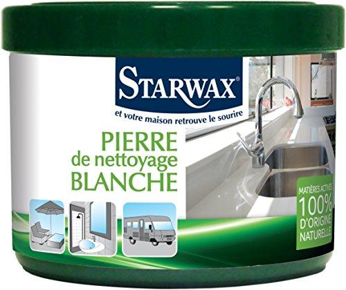Starwax 30600pietra di pulizia Bianco 100% di Origine Naturale
