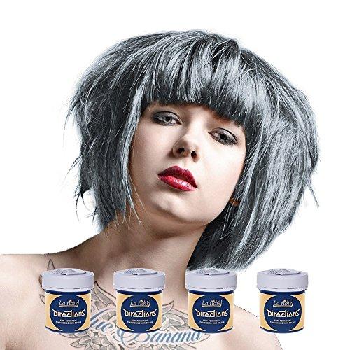 4 x La Riche Directions Semi-Perm Hair Colour Silver (ALL COLOURS Avail) 4x 88ml by LA RICHE