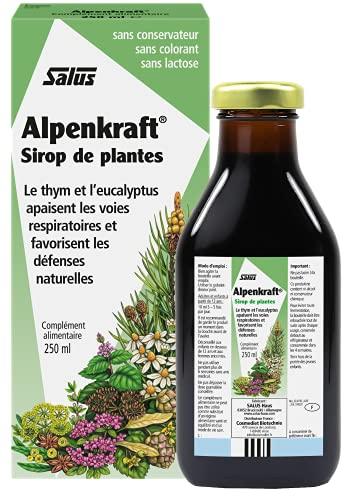 Salus Alpenkraft - Integratore Alimentare Con Estratti Vegetali E Oli Essenziali Per Il Benessere Di Naso E Gola - 250 Ml