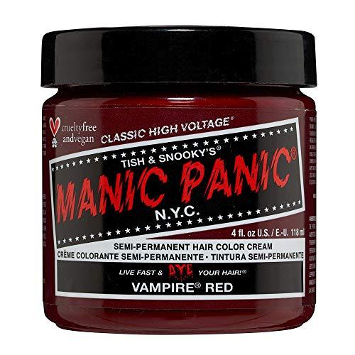 Manic Panic - Vampire Red Classic Creme Vegan Cruelty Free Red Semi Permanent Hair Dye 118ml