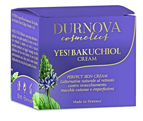 Best Durnova Quality!!! YES! BAKUCHIOL, Miglior Crema babchi Giorno e Notte - 50ml - L'alternativa naturale al retinolo, esfoliante, contro invecchiamento, macchie cutanee e imperfezioni.