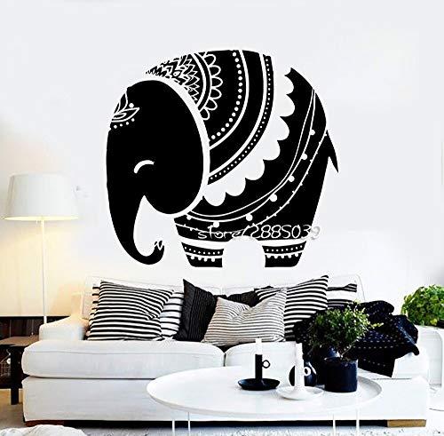 fancjj Adesivi murali Animali elefantino Decor Camera da Letto per Bambini Adesivo murale Carta da Parati di Alta qualità Design Artistico Tatuaggio murale