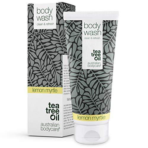 Australian Bodycare Body Wash 200ml   Tea tree oil e mirto australiano   Gel doccia uomo all'olio di melaleuca I Sapone delicato donna per pelle secca e impura, brufoli, prurito, cattivi odori, sudore