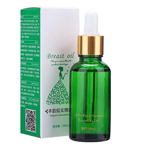 Olio essenziale di ingrandimento del seno, crema rassodante rassodante Estratto di sollevamento rapido del grande busto, 30 ml