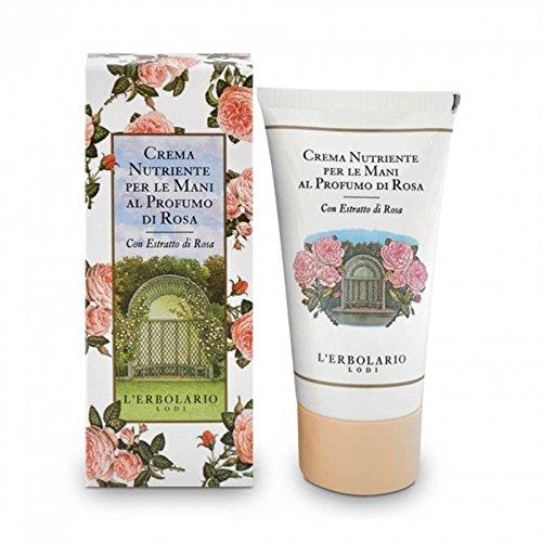 L'Erbolario - Crema nutriente per le mani al profumo di Rosa - 75 ml
