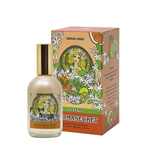 AROMASECRET Eau de Toilette per Donna, 100 ml - Nuovo Concetto - La migliore idea regalo per lei (CITRUS)