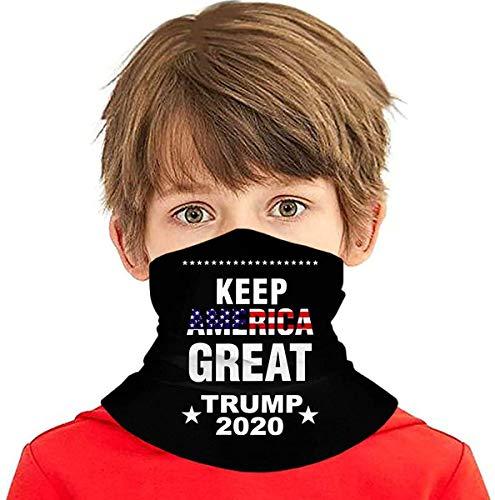 shenguang Keep America Great Trump Children Thermal Fiber Scarf