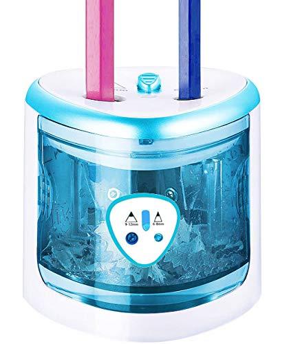 ARPDJK, Temperamatite elettrico, Con funzionamento a batteria, Per bambini, Per la scrivania, Per matite colorate