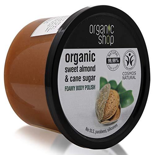 Organico Shop mandorla dolce mousse bagnoschiuma, 250ml