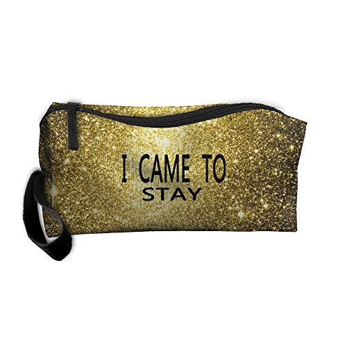 I Came To Slay Toiletry Bag Multifunction Cosmetic Bag Portable Makeup Pouch Travel Hanging Organizer Bag