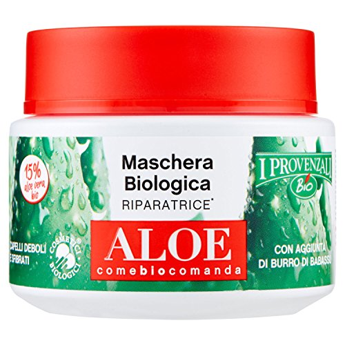 I Provenzali Set Maschera Capelli 6 Pz. Aloe Vera 6x250 ml
