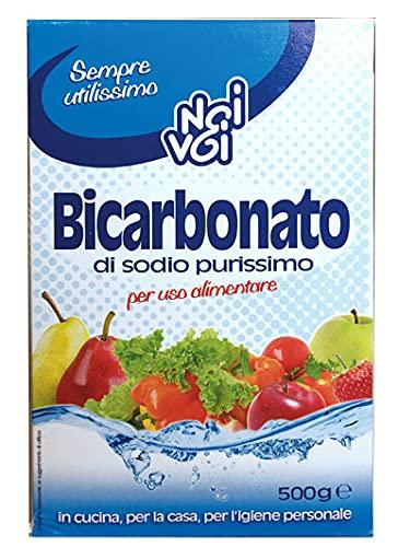 NoiVoi Bicarbonato di sodio purissimo 500 g