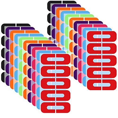 200 Pezzi Protezione per Smalto Perfetta Tenuta Protezione per Smalto Adesivo Nastro Monouso a Forma di U per Pittura di Unghie, Sfumature, Timbratura