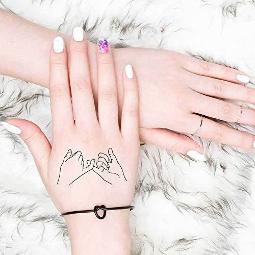 Pinky Promise - Tatuaggio temporaneo (set di 2)