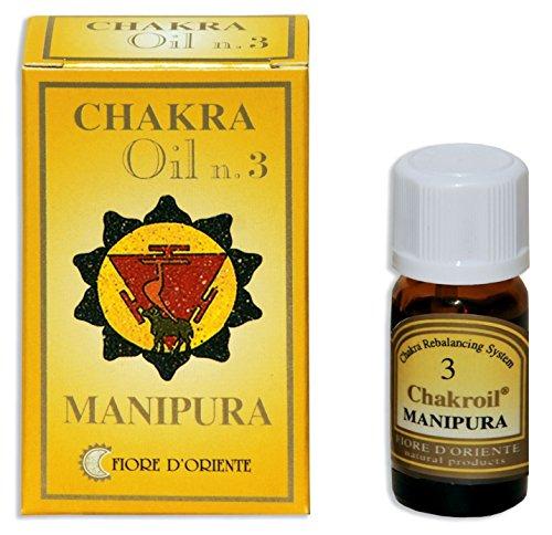 Fiore D 'oriente 3Chakra Manipura Oli Essenziali, 10ml, colore: giallo