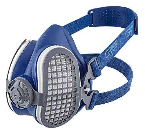 GVS SPR501 Elipse P3 Semimaschera con Filtri P3, Blue, M/L