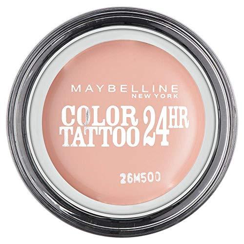 Maybelline Color Tattoo - 91 Creme De Rose - Oogschaduw ombretto Beige Satinata