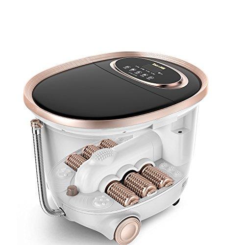 Minmin Vasca per pediluvio- Massaggio Completamente Automatico Riscaldamento Vasca per pediluvio elettrica 780W pediluvio