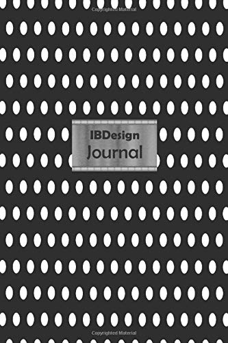 IBDesign Journal Professional Travel Make-up Cosmetic Organizer Notebook in your bag for women |6x9 inch |100 Lined pages | Glossy Black Polka Dot ... active travelers or beauty products lovers