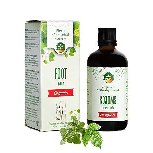 Olio da pediluvio biologico - additivo da bagno con olii essenziali - pediluvio per rilassare i piedi stanchi prima di dormire - cura dei piedi naturale con olio dell'albero del tè