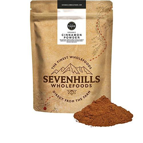 Sevenhills Wholefoods Polvere Di Cannella (Vero Ceylon) Crudo Biologico 1kg