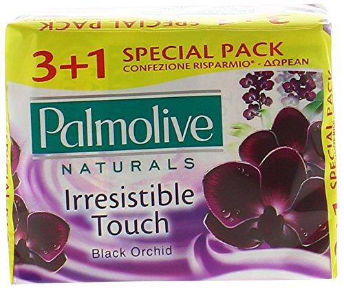 PALMOLIVE SAPONE 3+1PZ BLACK ORCHIDEA