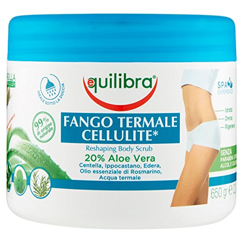 Equilibra Fango Termale Cellulite, 650 g