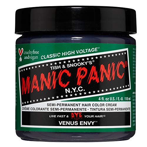 Manic Panic - Venus Envy Classic Creme Vegan Cruelty Free Semi-Permanent Hair Colour 118ml