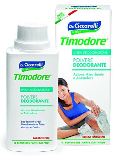 Timodore Polvere Deodorante, 2x75 gr
