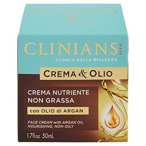 crema & olio antirughe all'olio di argan 50 ml