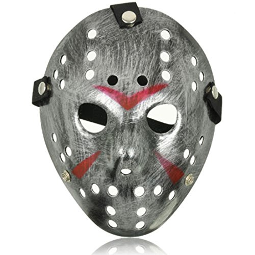 Aregnto Sofisticato Costume Jason X vS Freddy Halloween Venerdì 13 Maschere Hockey Adulti PVC Elastico Cinturino Di Qualità Maschera di Halloween Cosplay Killer Costume Horror Prop