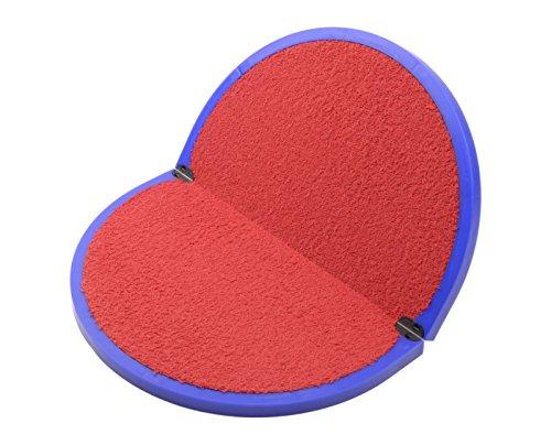 Fit feet tappetino poggiapiedi per spogliatoio Art. FIT1 (Base BLU interno ROSSO)