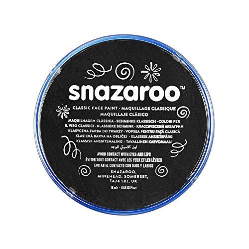 Snazaroo - Colore Per Viso 18ml Nero