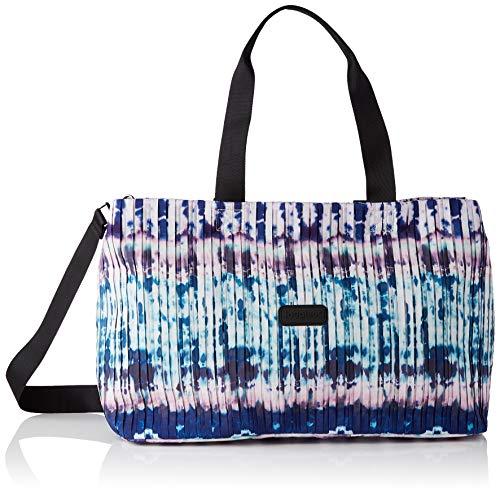 Desigual Woven Luggage, Donna, Blu, U