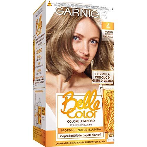 Garnier Belle Color Colorazione Permanente per Capelli, 4 Biondo Cenere Naturale